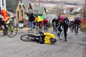 Bike Fall over