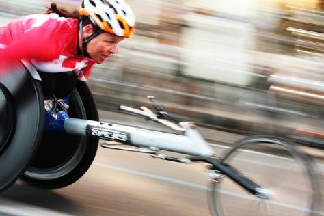Wheel Chair Athlete