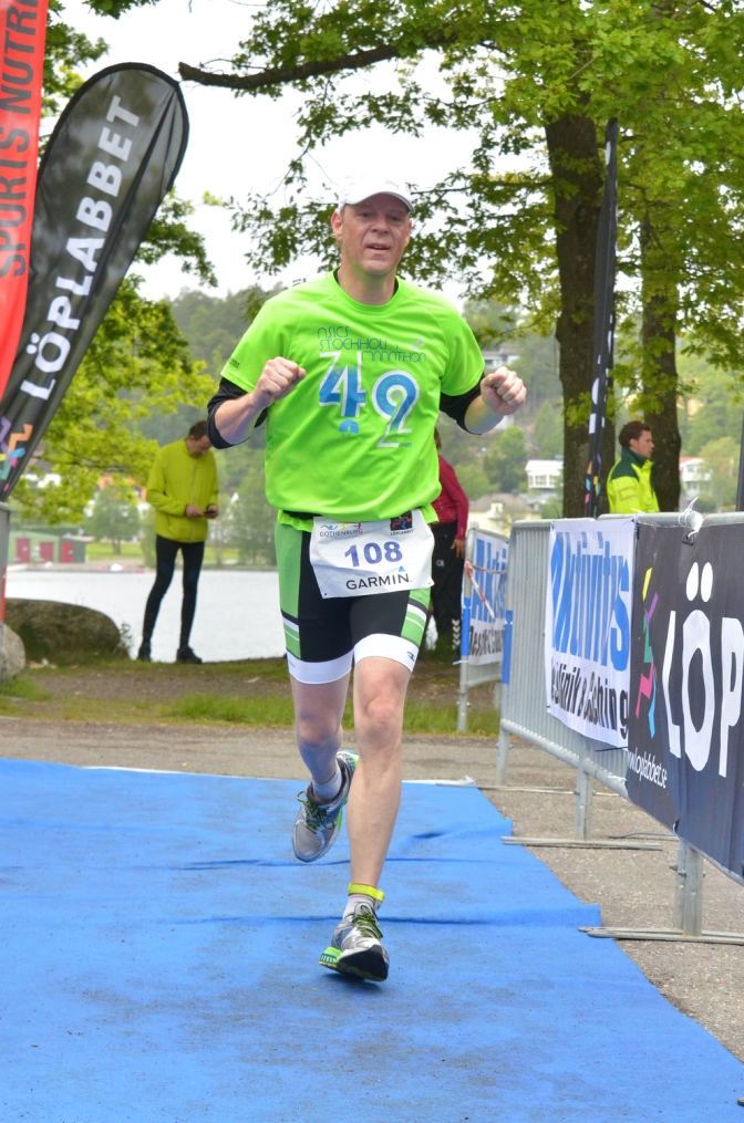 Fantastic Finish Foto Friday – First time triathlete Dan